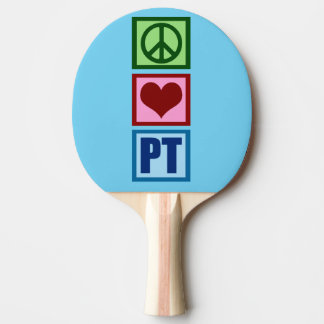Peace Love PT Physical Therapy Ping-Pong Paddle