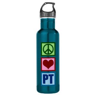 Peace Love PT Water Bottle