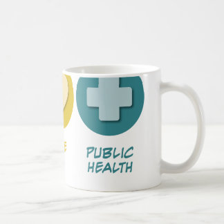 Peace Love Public Health Coffee Mug