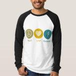 Peace Love Pulmonology Tee Shirts