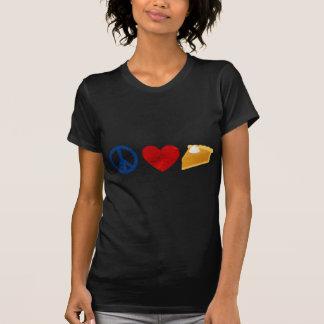 Peace, Love, Pumpkin Pie Tee Shirt