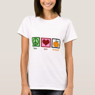 Peace Love Pumpkin Women's T-Shirt