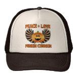 Peace Love Punkin Chunkin Trucker Hat