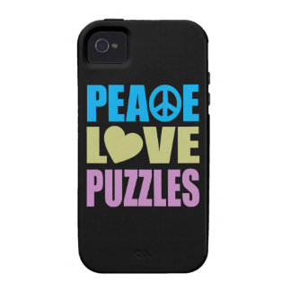 Peace Love Puzzles Case For The iPhone 4
