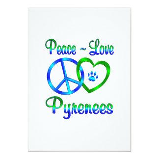 Peace Love Pyrenees Card