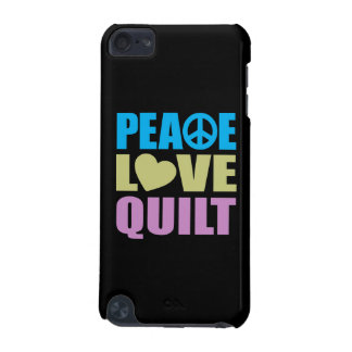 Peace Love Quilt iPod Touch 5G Case