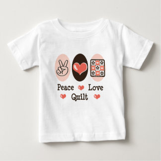 Peace Love Quilt Infant T-shirt