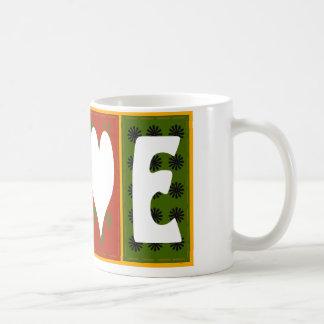 Peace Love Quilt Mug