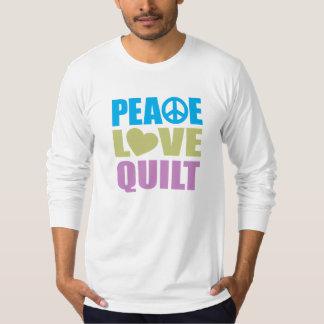 Peace Love Quilt T-shirt