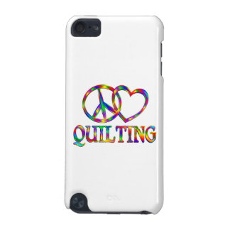 Peace Love Quilting iPod Touch (5th Generation) Covers