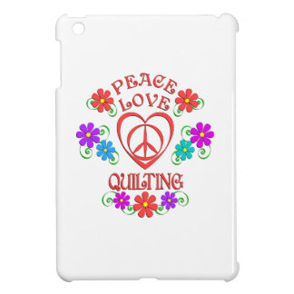Peace Love Quilting Case For The iPad Mini