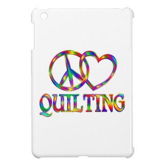 Peace Love Quilting iPad Mini Covers