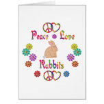PEACE LOVE RABBITS CARDS