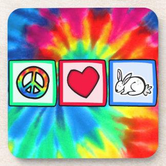 Peace, Love, Rabbits Coaster