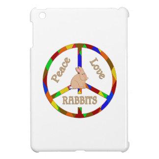Peace Love Rabbits Cover For The iPad Mini