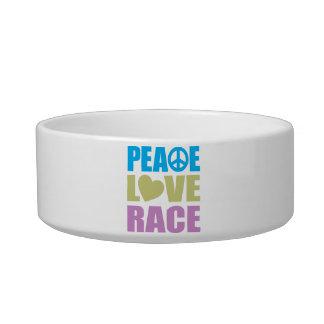 Peace Love Race Bowl