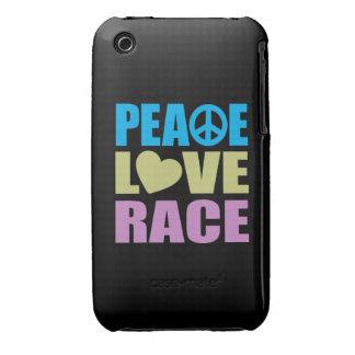 Peace Love Race iPhone 3 Case-Mate Cases