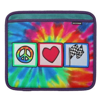 Peace Love Racing Sleeve For iPads