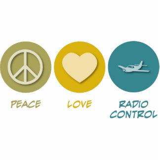 Peace Love Radio Control Photo Sculpture Ornament