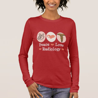 Peace Love Radiology Long Sleeve Tee