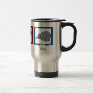 Rodent Water Bottles & Travel Mugs | Zazzle