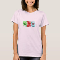 Peace Love Rattie T-Shirt