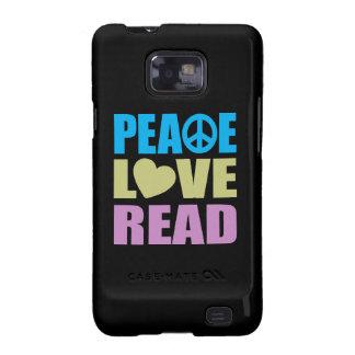 Peace Love Read Samsung Galaxy S2 Covers