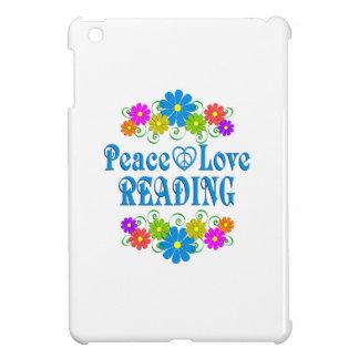 Peace Love Reading Cover For The iPad Mini