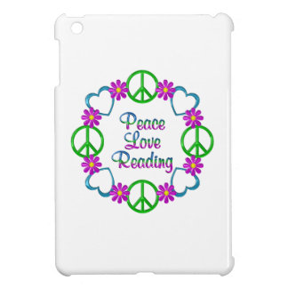 Peace Love Reading iPad Mini Cover