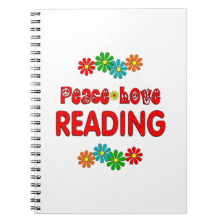 Peace Love Reading Notebooks