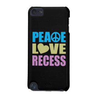 Peace Love Recess iPod Touch 5G Case