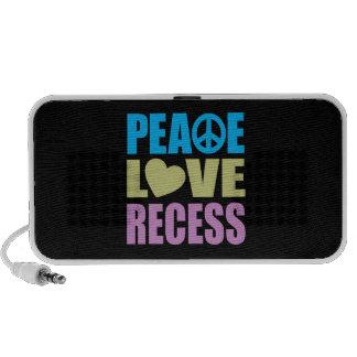 Peace Love Recess Mini Speaker