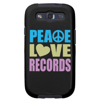Peace Love Records Samsung Galaxy SIII Case