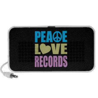 Peace Love Records iPod Speakers