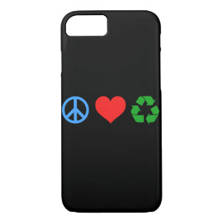 Peace Love Recycle iPhone 8/7 Case