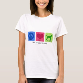 Peace Love Redbone Coonhound T-Shirt