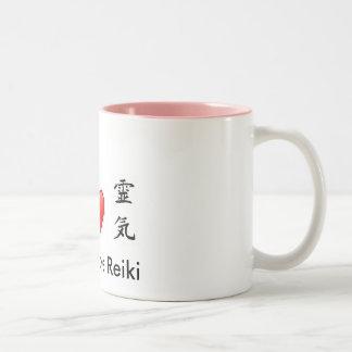 Peace Love Reiki Mug