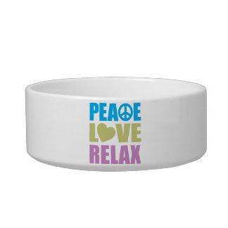 Peace Love Relax Bowl