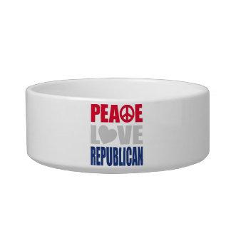 Peace Love Republican Bowl