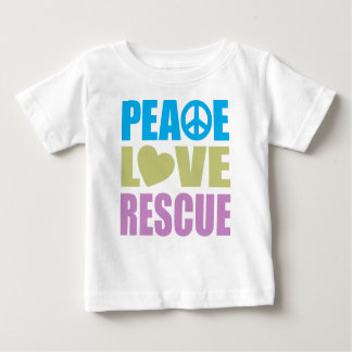 Peace Love Rescue Baby T-Shirt