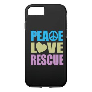 Peace Love Rescue iPhone 7 Case