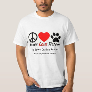 Peace, Love, & Rescue T-Shirt