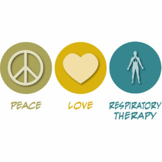 Peace Love Respiratory Therapy Acrylic Cut Outs