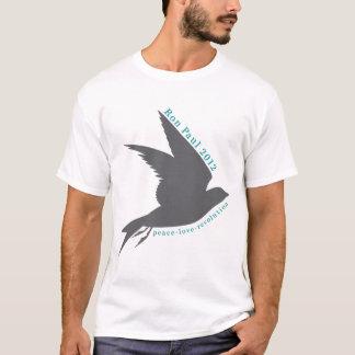 Peace. Love. Revolution. Ron Paul 2012. T-Shirt