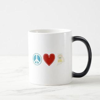 Peace Love Rhode Island Magic Mug