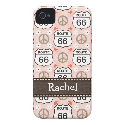 Peace Love Road Trip Route 66 4 4s Case-Mate Cover Case-Mate iPhone 4 Case