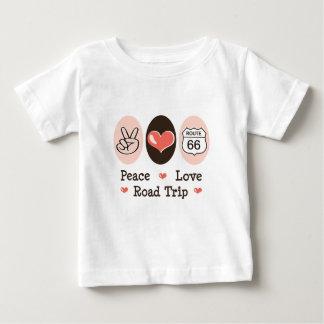 Peace Love Road Trip Route 66 Infant T-shirt