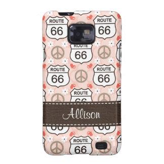 Peace Love Road Trip Samsung Galaxy S Case Cover Samsung Galaxy S2 Cover