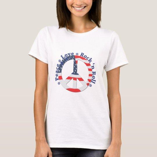 Peace, Love, Rock n Roll T-Shirt