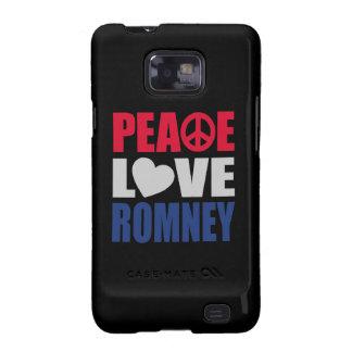 Peace Love Romney Galaxy S2 Case